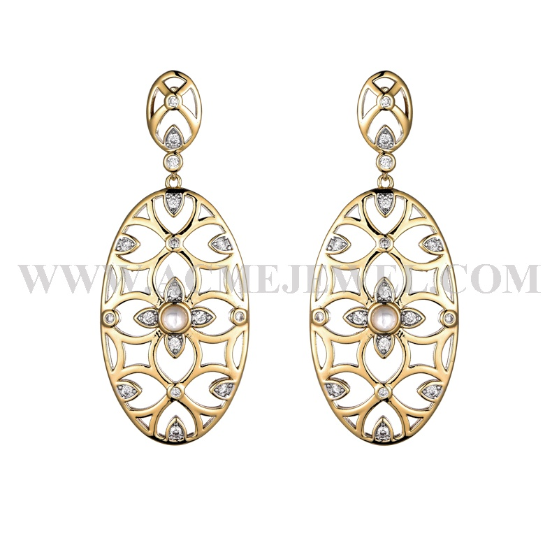 1-214496-204000-8  Earrings